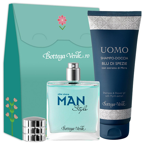Set Man Style, 50 ML + 200 ML