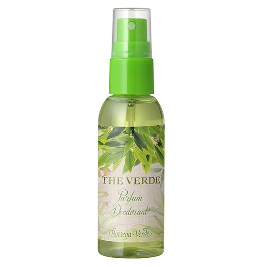 Travel size parfum deodorant cu extract de ceai verde - The Verde, 50 ML
