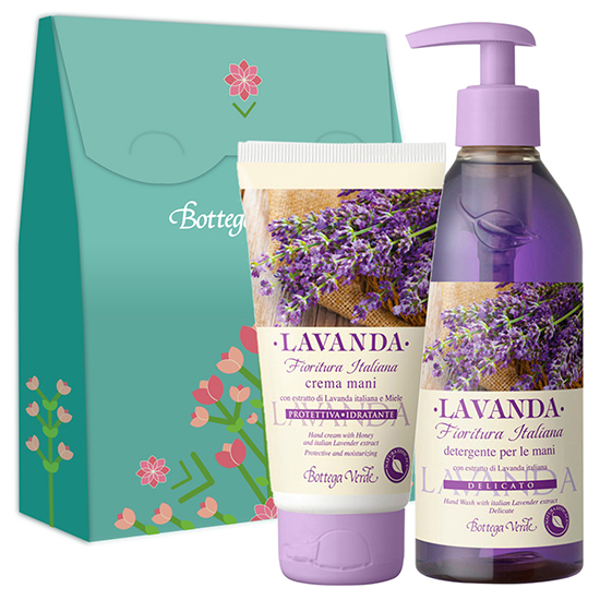 Set cadou - Crema de maini si sapun lichid cu extract de lavanda italiana - Lavanda  (250 ML + 75 ML)