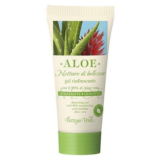 Mini gel de corp cu aloe - Aloe, 30 ML