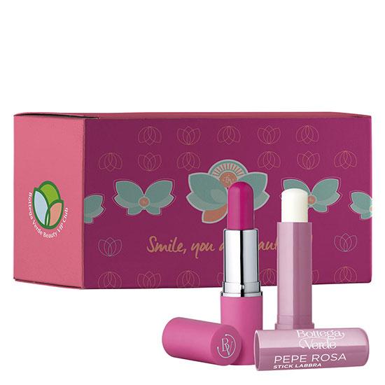 Set balsam de buze colorat