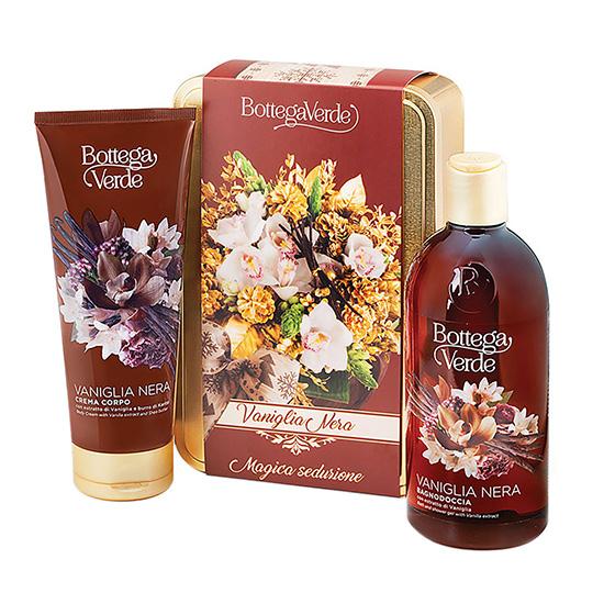 Set cadou femei, pentru hidratarea corpului, cu aroma de vanilie neagra - Vaniglia Nera