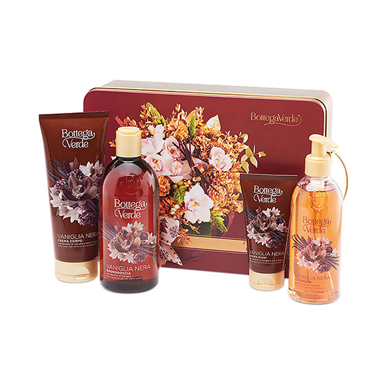 Set cadou femei, pentru ingrijirea corpului, cu aroma de vanilie neagra - Vaniglia Nera