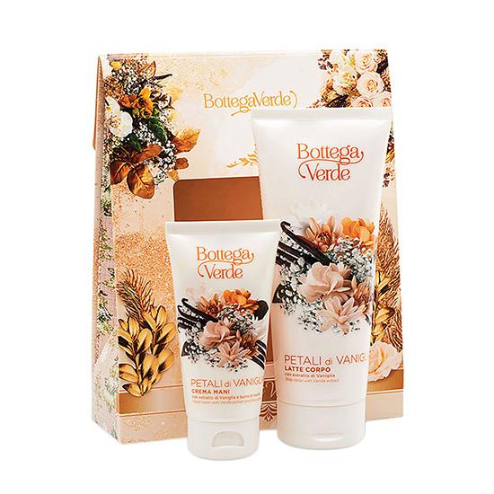 Set cadou femei, pentru hidratarea corpului, cu extract de petale de vanilie - Petali di Vaniglia