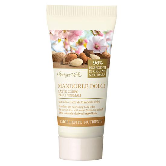 Crema de corp mini, hidratanta, cu ulei de migdale dulci - Mandorle, 30 ML