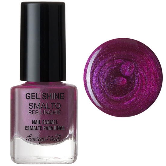 Lac de unghii, mov sidefat - Gel Shine  (5 ML)