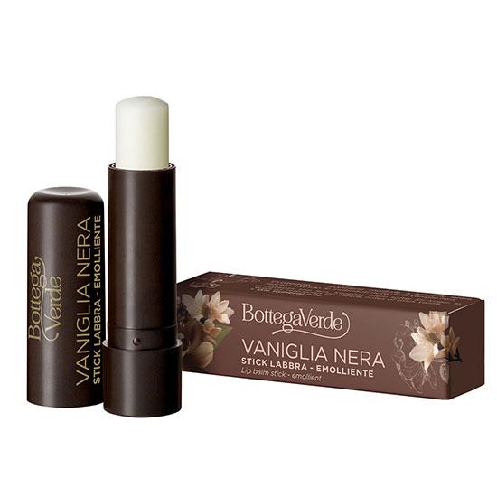 Balsam de buze, hidratant, cu extract de vanilie neagra, incolor - Vaniglia Nera, 5 ML