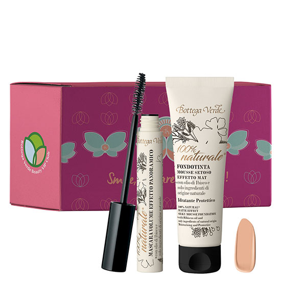 Set fond de ten si mascara volum, 30 ML + 12 ML