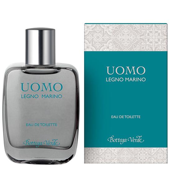 Apa de toaleta cu aroma lemnoasa - marina - Legno Marino, 50 ML