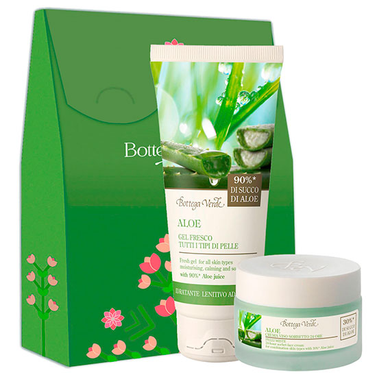 Set ingrijire ten Aloe Vera, 100 ML + 50 ML