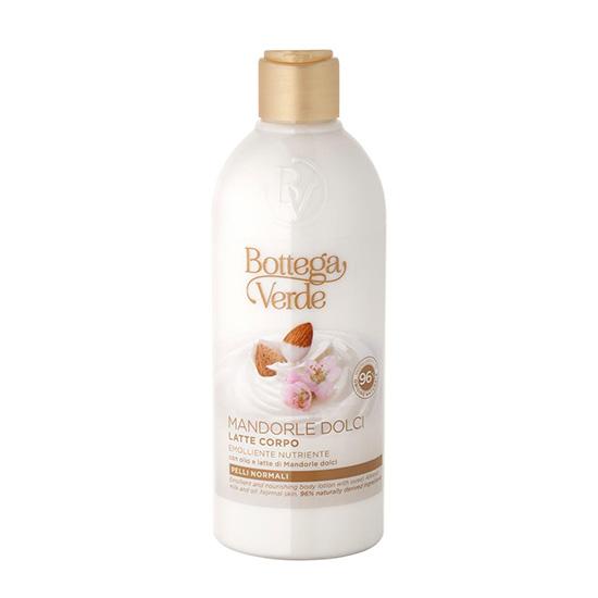 Lapte de corp cu ulei si lapte de migdale dulci - Mandorle, 250 ML