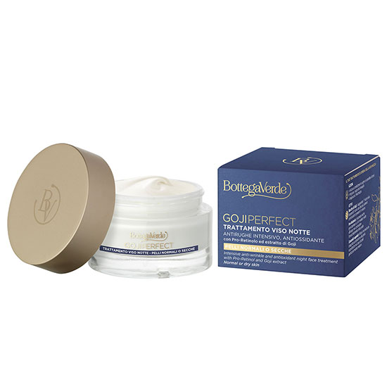 Tratament antirid intensiv, de noapte, pentru tenul matur, cu Pro-Retinol si extract de goji - Goji Perfect, 50 ML