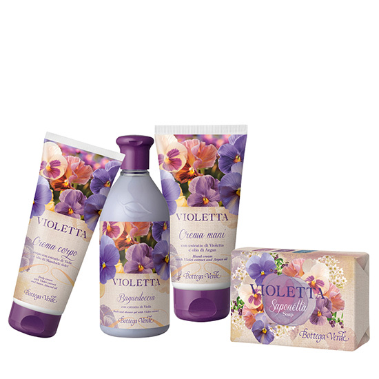 Set Violete - Violetta, 200 ML + 150 G + 400 ML + 75 ML