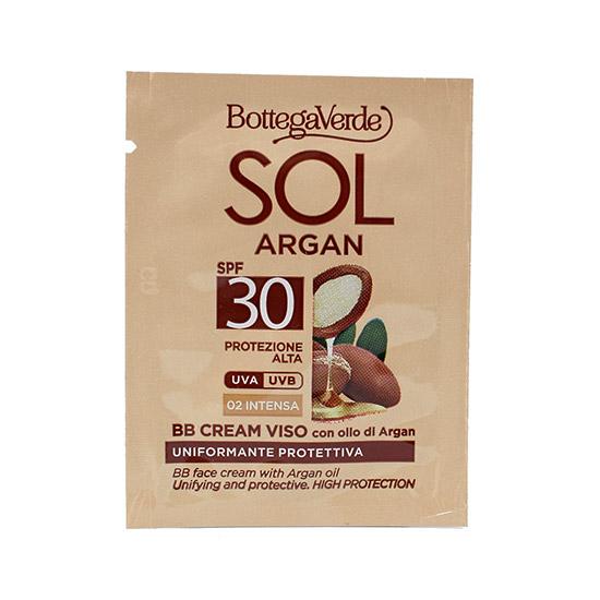 Mostra bb cream hidratant, cu ulei de Argan, SPF30, bej inchis - SOL Argan