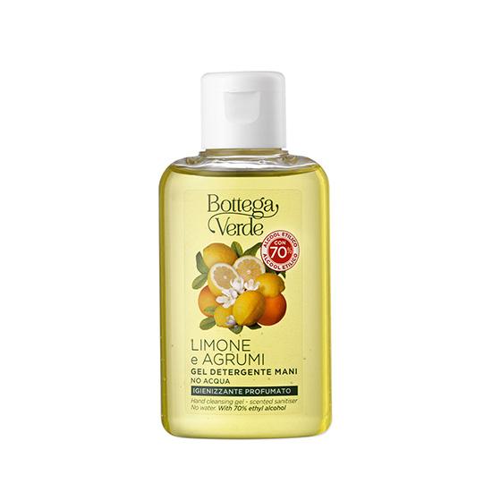 Gel igienizant de maini cu citrice - Limone e Agrumi, 100 ML