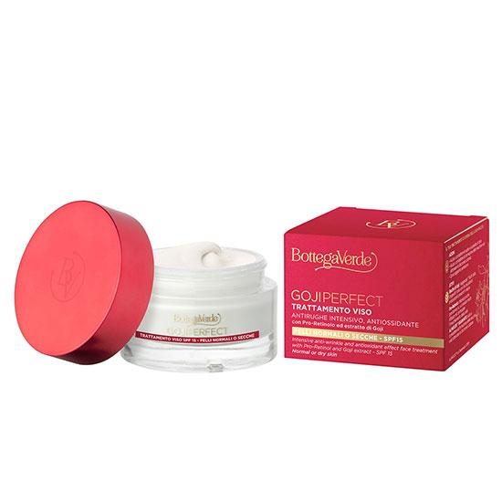 Tratament antirid intensiv de zi cu pro-retinol si extract de goji - Goji Perfect, 50 ML
