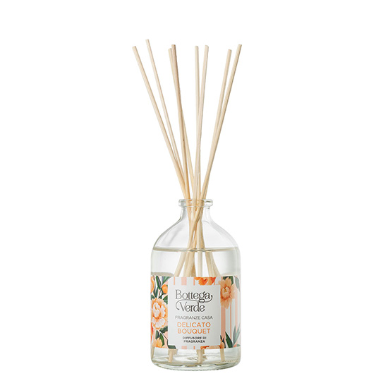Difuzor de camera, cu aroma de bergamota si garoafe - Delicato Bouquet, 100 ML