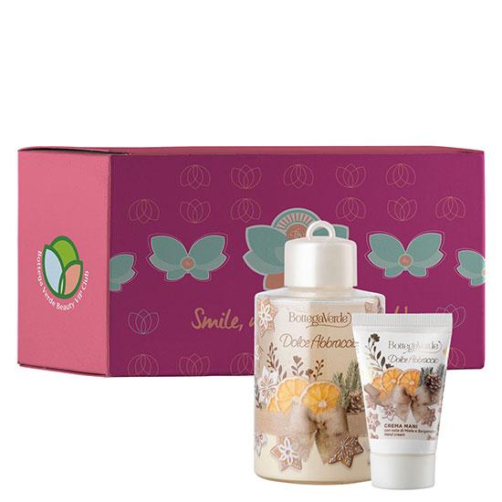 Set cadou femei pentru ingrijirea corpului cu aroma de miere si bergamota, 100 ML + 30 ML