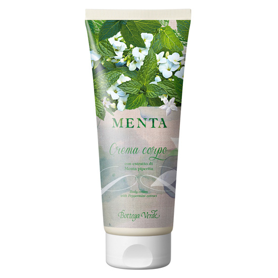 Crema de corp cu extract de menta - Menta, 200 ML