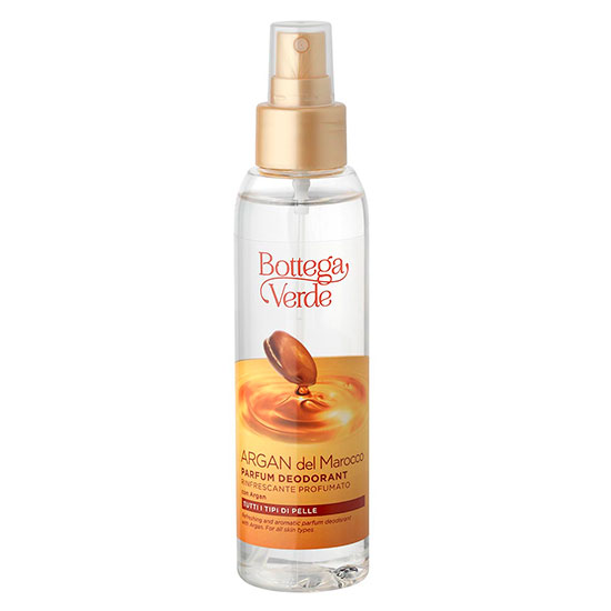 Parfum deodorant racoritor cu ulei de argan - Argan del Marocco, 125 ML