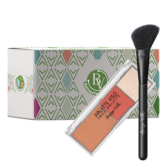 Set makeup face palette, 8 G