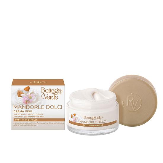 Crema de fata, pentru toate tipurile de ten, cu lapte si ulei de migdale dulci - Mandorle, 50 ML