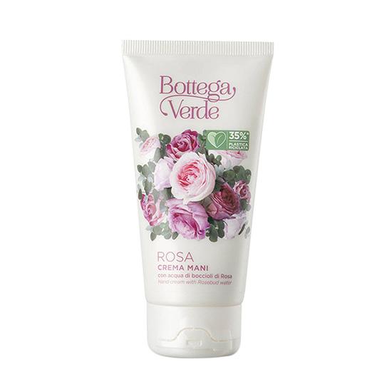Crema de maini, intens hidratanta, cu apa din muguri de trandafiri - Rosa, 75 ML