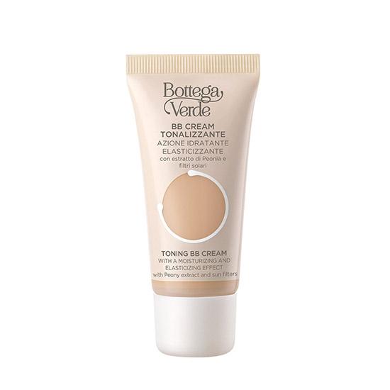 BB cream, intens hidratant, cu extract de bujori si filtre solare, bej migdala, 30 ML