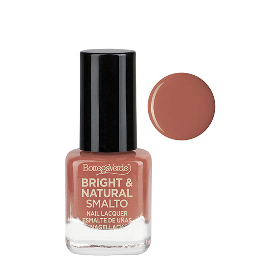 Lac de unghii cu 80% ingrediente naturale, nude - Bright and Natural, 5 ML