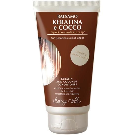 Balsam cu keratina si ulei de cocos - pentru par rebel - Keratina e Cocco, 150 ML