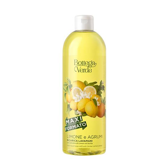 Sapun lichid cu aroma de lamai - Limone e Agrumi, 750 ML