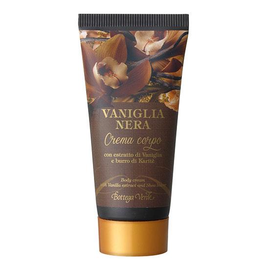 Travel size crema de corp cu extract de vanilie neagra si unt de shea - Vaniglia Nera, 30 ML