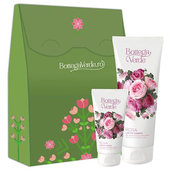 Set cadou femei pentru hidratare Rosa - Rosa, 200 ML + 75 ML