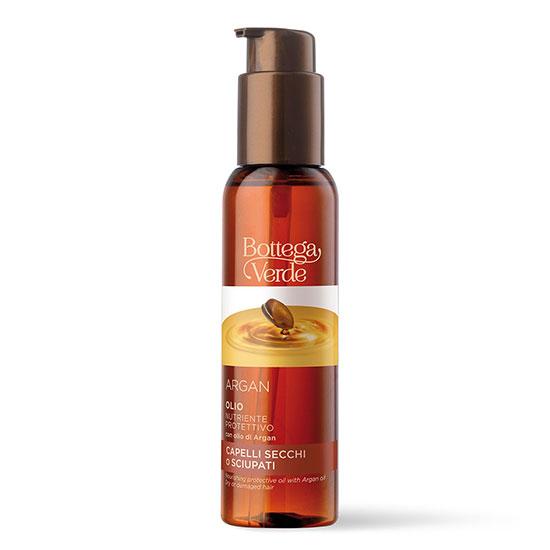 Tratament nutritiv, cu efect de protectie, cu ulei de argan - Argan, 100 ML