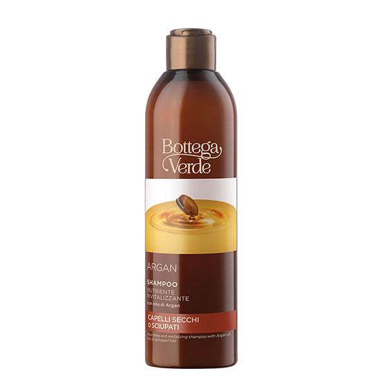 Sampon hranitor si revitalizant cu ulei de argan - Argan, 250 ML