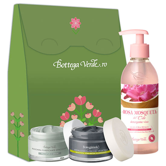 Set curatare ten, 50 ML + 50 ML + 250 ML