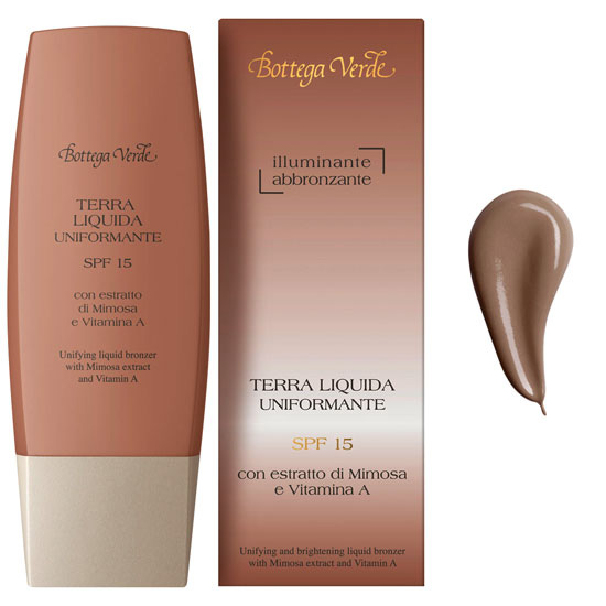 Fluid iluminator bronzant cu extract de mimoza si Vitamina A, bronz - My color, 30 ML