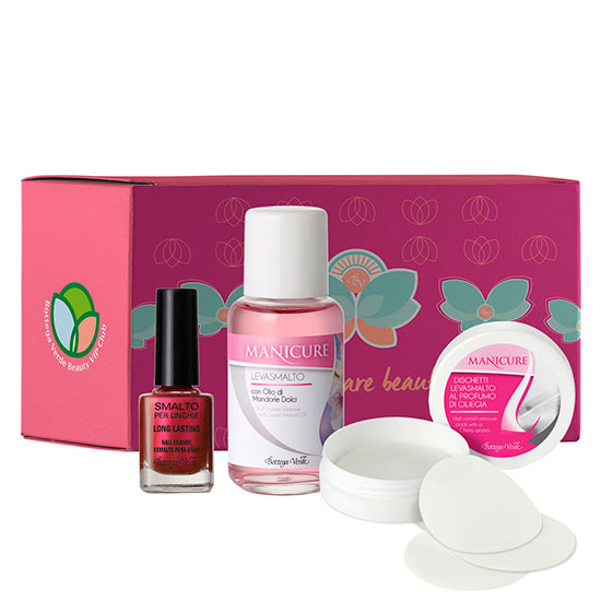 Set cute nails spa, 10 ML + 50 ML + 15 BUC