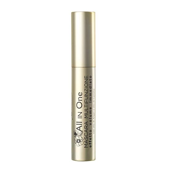 Mascara cu efect de volum, cu extract de ulei de argan si ulei de camelia, negru , 12 ML