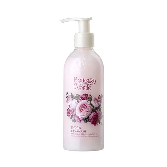 Sapun lichid, delicat, cu apa din muguri de trandafiri - Rosa, 250 ML