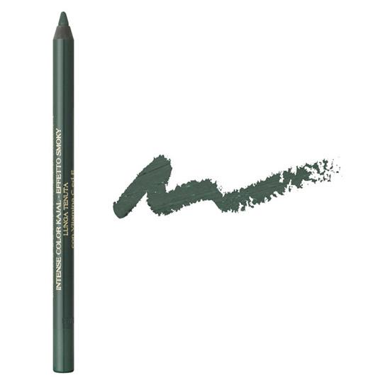 Creion de ochi kajal, cu rezistenta indelungata, cu vitamina C si E, verde kaki