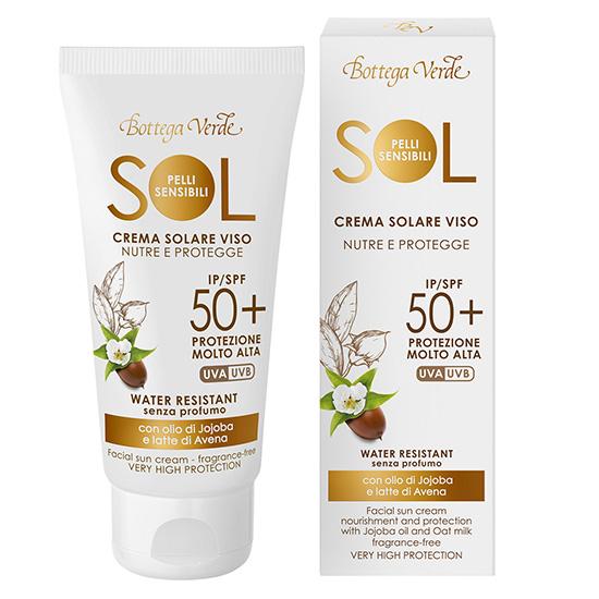 Crema de fata, antioxidanta, cu MAXnolia si ulei de argan - Sol Pelli Sensibili, 50 ML