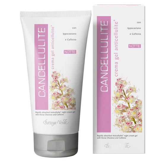 Crema gel anticelulita de noapte cu castan salbatic si cafeina - Cancellulite, 150 ML