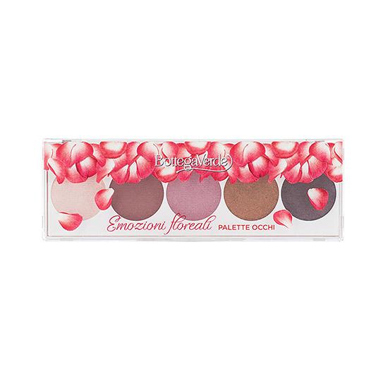 Paleta pentru ochi cu extract de trandafir - Emozioni Floreali
