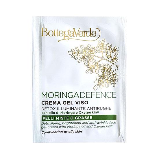 Mostra crema-gel de fata cu ulei de moringa si oxygeskin - Moringa Defence, 1.5 ML