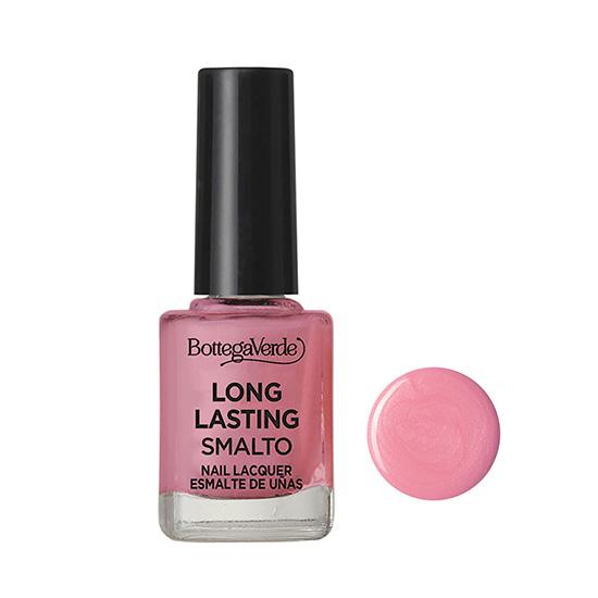 Lac de unghii stralucitor, roz sidefat, 10 ML