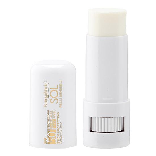 Stick protectie solara, cu ulei de Jojoba si Vitamina E, SPF 50+ - Sol Pelli Sensibili, 9 ML