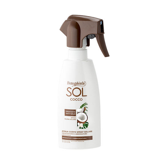 Spray pentru intensificarea bronzului cu ulei de nuca de cocos - SOL Cocco, 200 ML