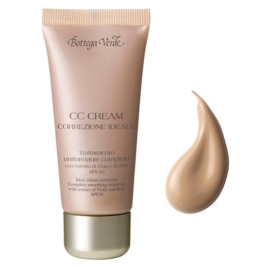 CC cream - tratament cu extract de violete si orez , bej deschis (30 ML)