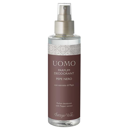 Parfum deodorant, intens hidratant, cu extract de piper negru - Pepe Nero, 150 ML